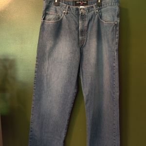Weathered Guess Jeans